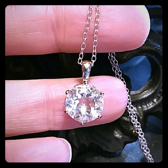 eef270e75 Jewelry | Herkimer Diamond Quartz Necklace | Poshmark